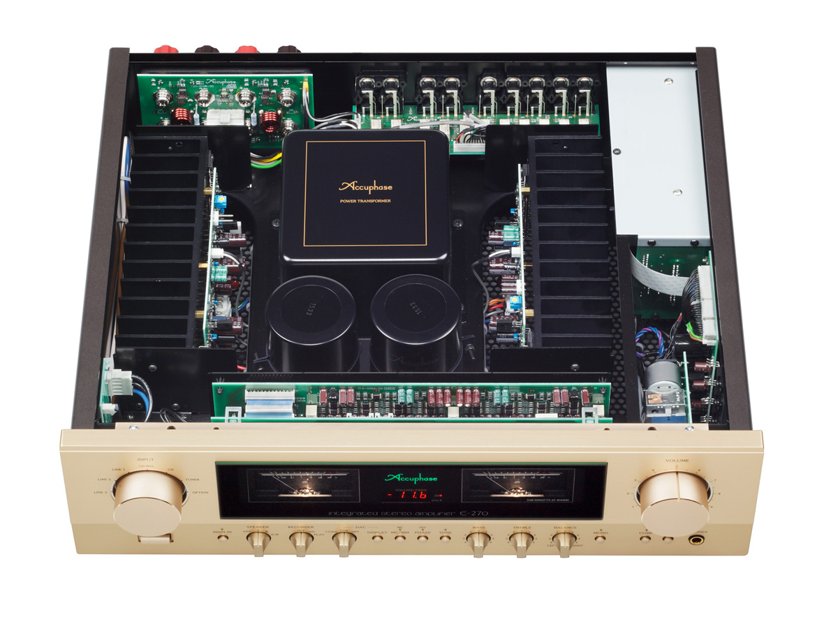 accuphase e 270 wnetrze
