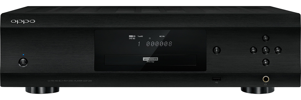 oppo UDP 205 front