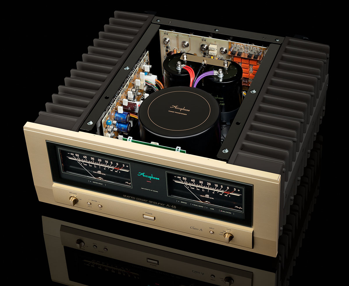 Accuphase A-48 wnetrze