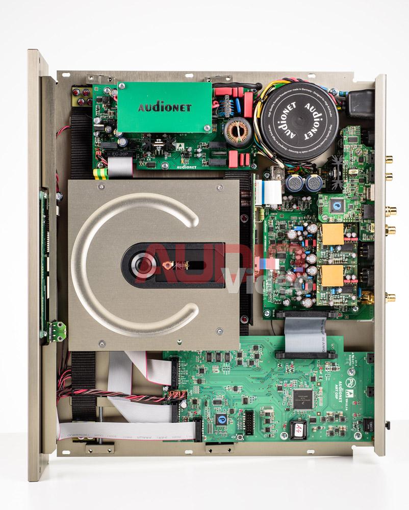 Audionet Planck 5 wnetrze
