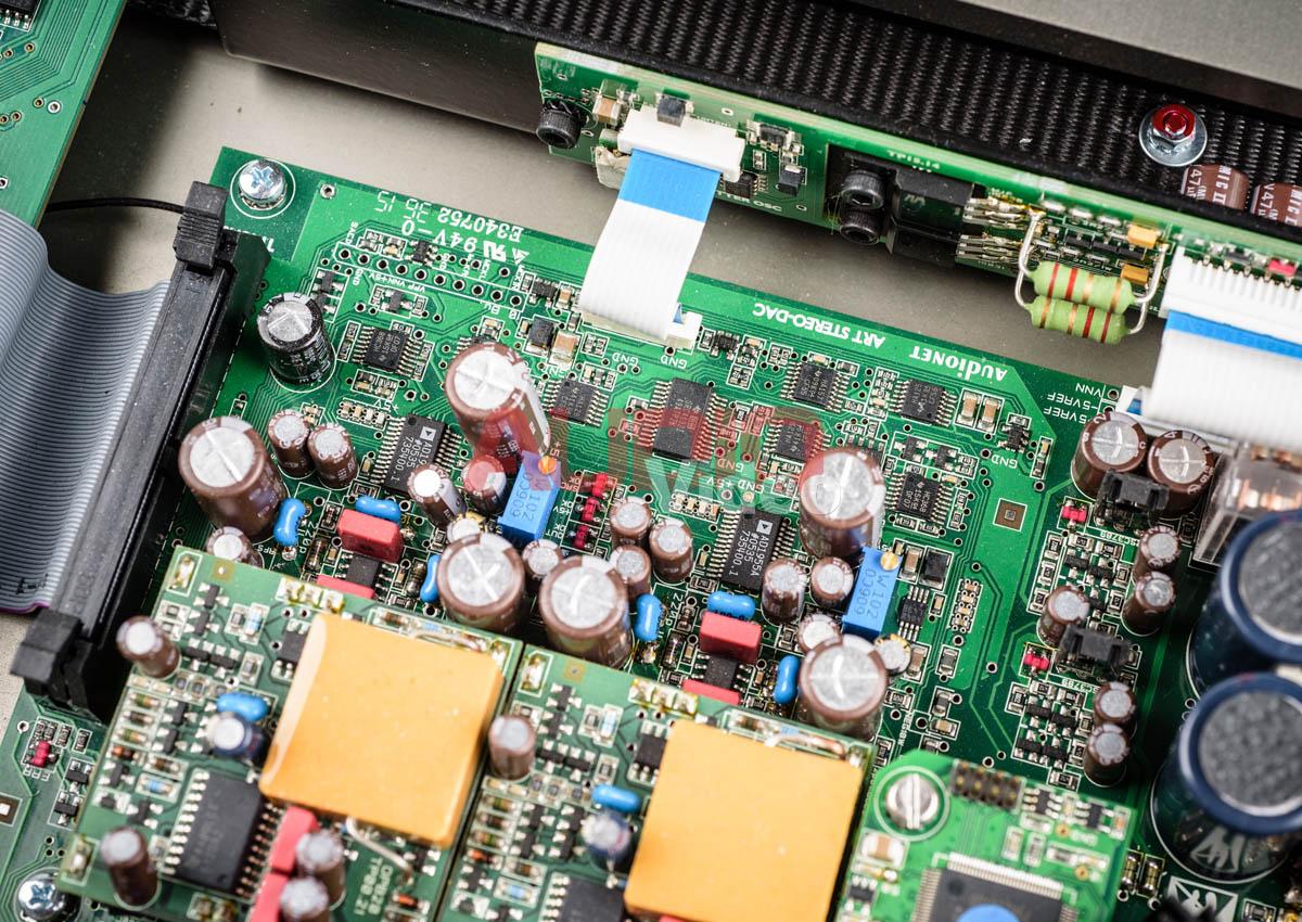 Audionet Planck 7b sekcja DACa