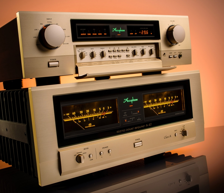 Accuphase C-2450 / A47